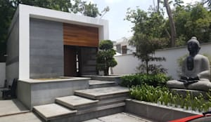 MARTIN RESIDENCE: modern Houses by CARTWHEEL