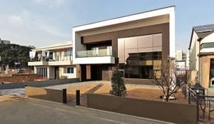 양산시 물금읍 증산리 단독주택: 피앤이(P&E)건축사사무소의  주택