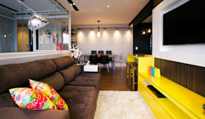Projeto PDD: Salas de estar industriais por Saia Arquitetura