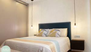 Dormitorio B's: Dormitorios de estilo  de ALARCA. Interiorismo&Hogar