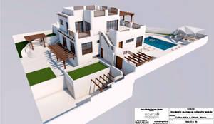 Exterior: Casas de estilo mediterráneo de Pacheco & Asociados