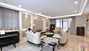 Kajang Jade Hills : classic Living room by Hatch Interior Studio Sdn Bhd