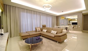 Windows On The Park: modern Living room by Hatch Interior Studio Sdn Bhd
