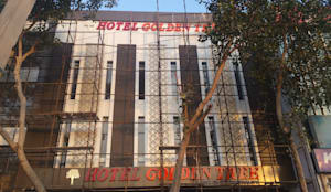 Hotel Golden Tree:  Hotels by Incense interior exterior pvt Ltd.