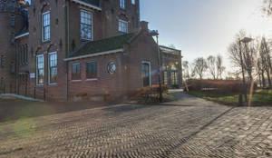 Huize Westerhout:  Kantoor- & winkelruimten door Dineke Dijk Architecten