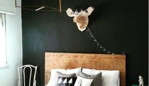 Después, Nórdico Unisex: Dormitorios de estilo escandinavo por OOST / Sabrina Gillio