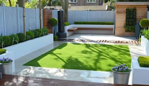 Minimalist Garden: modern Garden by Landscaper in London