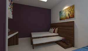 Bedroom: modern Bedroom by ANUP DEZINES