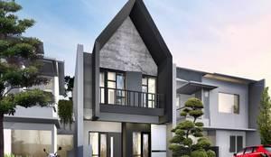 Projekty,  Dom jednorodzinny zaprojektowane przez Atelier BAOU+