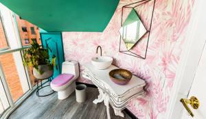 Baño: Baños de estilo moderno por Aluzina