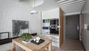 餐廳設備收納:  餐廳 by 采坊設計