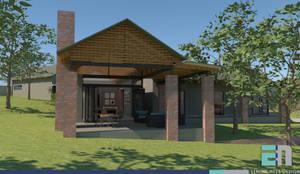 Hiên, sân thượng by ENDesigns Architectural Studio