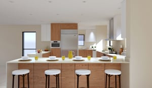 Thornhill Estate Kitchen: modern Kitchen by Linken Designs
