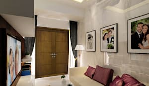 Sunter Resident Mr. Donny :  Ruang Keluarga by Elora Desain