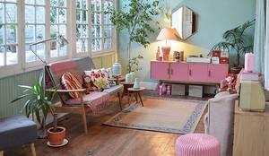 ESTAR: Livings de estilo moderno por BE ARQUITECTOS