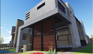 3D Drawing:  Multi-Family house by TOP CENTRE PROPERTIES GROUP (PTY) LTD