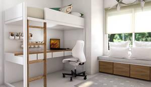 Obra Club de campo pueyrredón: Dormitorios infantiles de estilo  por Bhavana,