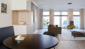 Modern Woonkamer Design : Moderne open woonkamer von stefania rastellino interior design