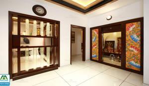 Ultra-Modern Designs: country Living room by Premdas Krishna