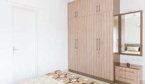 Durga Petals 301: modern Dressing room by Designasm Studio