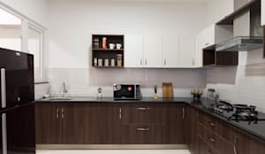 Durga Petals 301:  Kitchen by Designasm Studio