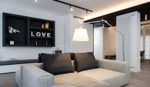 Salas / recibidores de estilo moderno por Patrizia Burato Architetto