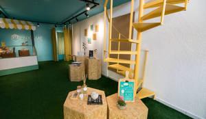 Loja Colaborativa | Enxame: Lojas e imóveis comerciais  por Arquiteca Projetos Afetivos