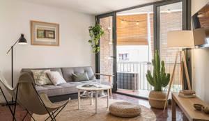 Phòng khách theo Bloomint design, Địa Trung Hải