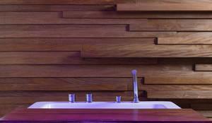 b-101: Spa de estilo  por Daniel Cota Arquitectura | Despacho de arquitectos | Cancún,