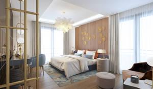 Duygu Solaker  – Yatak Odası: modern tarz Yatak Odası