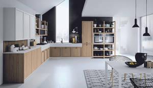 Dibiesse - Mia: Cucina attrezzata in stile  di ROOM 66 KITCHEN&MORE