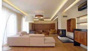 moderne Wohnzimmer von Tolga Archıtects