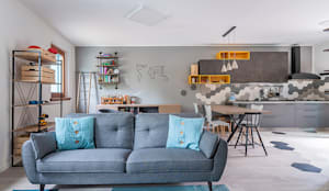 Ristrutturazione appartamento di 200 mq a Udine, S. Paolo: Cucina attrezzata in stile  di Facile Ristrutturare