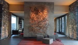 The Vines Resort & Spa   Main Building: Hoteles de estilo  por Bórmida & Yanzón arquitectos