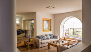 Sala de Estar: Salas de estilo  por Bojorquez Arquitectos SA de CV