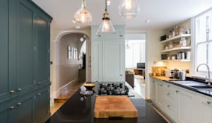 Kitchen Renovation:  Built-in kitchens by Resi Architects in London