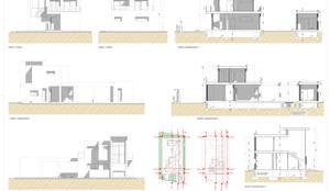 Planos de villa en La Manga Club: Casas multifamiliares de estilo  de Pacheco & Asociados