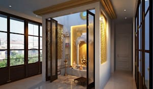 TEMPLE ROOM :  Houses by JM: The Design Consultant