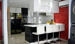 Cocinas instaladas en Vina del mar: Cocinas equipadas de estilo  por isabella cocinas