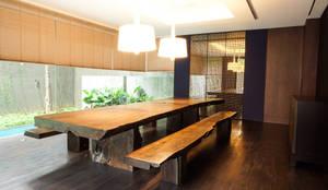 Projekty,  Jadalnia zaprojektowane przez ARF interior