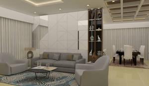 Residence Interiors: classic Dining room by URBAIN DEZIN STUDIO