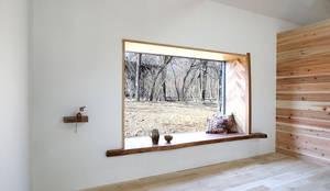 CSH#55 O house: NASU CLUBが手掛けた木製サッシです。