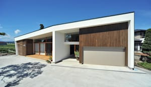 sakuramori house: Takeru Shoji Architects.Co.,Ltdが手掛けた家です。
