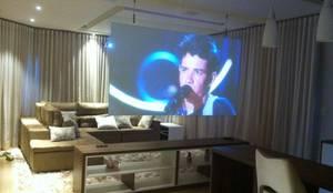 Sala Moderna : Salas de estar modernas por Designer Paula Daiane dos Santhos