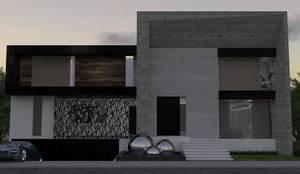 Casa GC 1920: Casas de estilo moderno por HC Arquitecto
