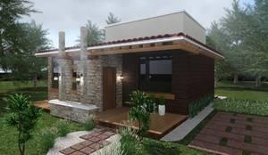 Casas de estilo moderno por HC Arquitecto