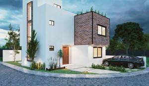 Casas de estilo moderno por Integra Arquitectos