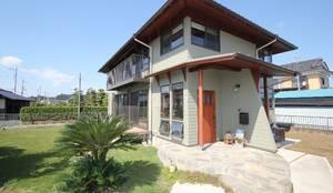 外観: 大出設計工房 OHDE ARCHITECT STUDIOが手掛けた別荘です。