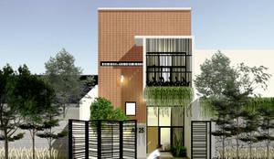 Rumah Ibu Vika:  Rumah by SEKALA Studio