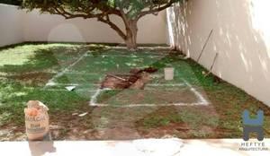 Construcción de pisicina en Mérida: Albercas de estilo minimalista por Heftye Arquitectura